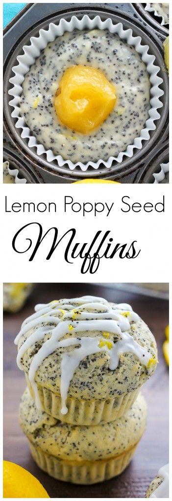 Ultimate Lemon Poppy Seed Muffins - Soft and oh-so-fluffy, these muffins burst with sunshine-sweet flavor.