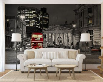 Cityscape MURAL self adhesive peel and stick by ZestPhotography