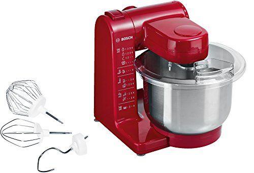 Bosch Mum44r1 Robot De Cuisine 600 W Rouge Robot Cuisine Robot Multifonction Idees De Design D Interieur