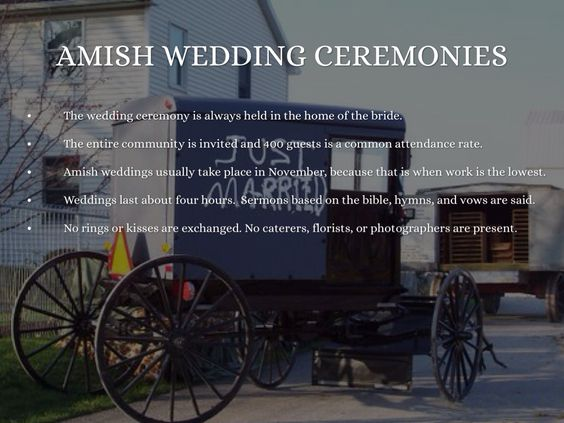 Amish The Bride Wears A New Blue Linen Dress And Wears No Makeup And Will Not Receive An Engagement Or Wedding Ring Because Amish Amish Culture Amish Country