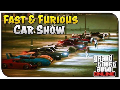 Gta 5 Online Fast Furious Edition Car Show Gta V Http