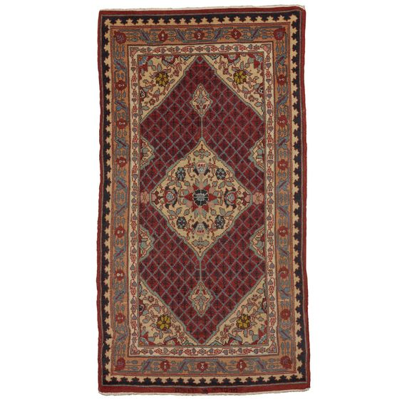 Jerusalem Prayer Rug: 122 PROPERTY FROM THE COLLECTION OF ANTON FELTON A