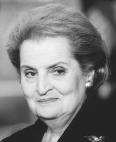 """""""I do not believe that things happen accidentally; I believe you earn them."""" ~ Madeleine Albright"""