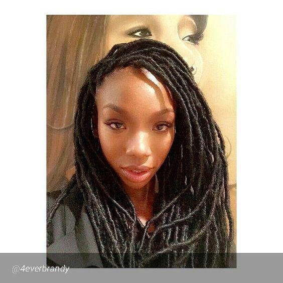 Brandy norwood braids