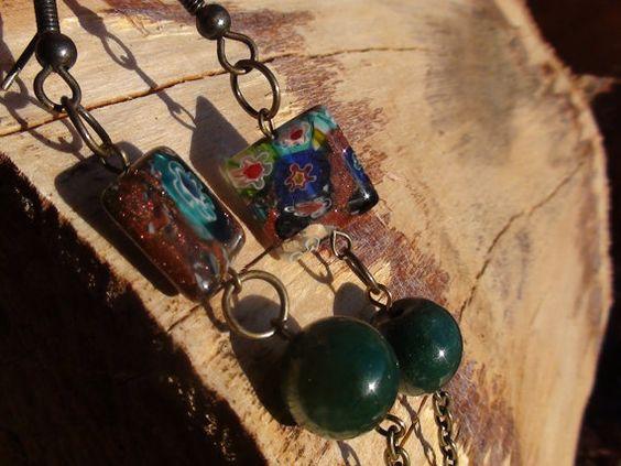 earringsgypsy by jeweldesignsbyred on Etsy, $9.00