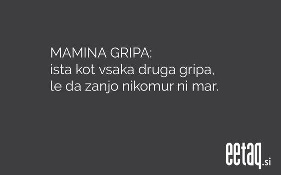 Mamina gripa
