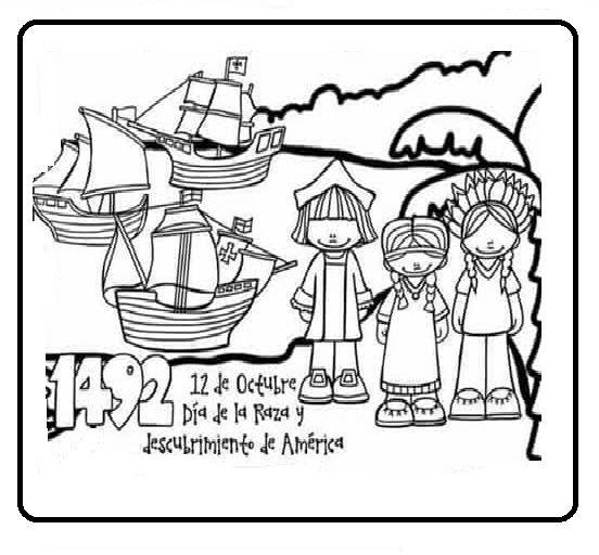 Tu Tarea Descubrimiento De America Actividades Ludicas Para Ninos Libros De Preescolar Actividades De Lectura Preescolar