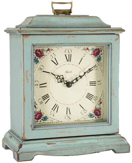 Chiming Battery Operated Mantel Clock