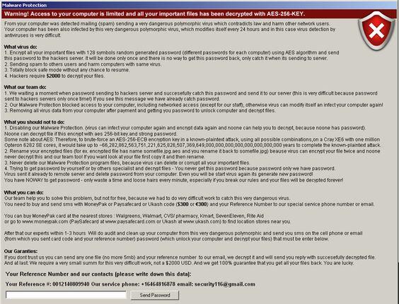 Ransomware Screenshot Collection - walgreens resume paper