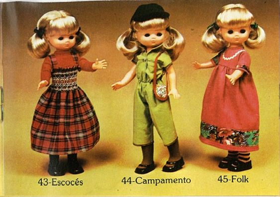 La biblioteca silvestre: Catálogo Lesly de Famosa 1977