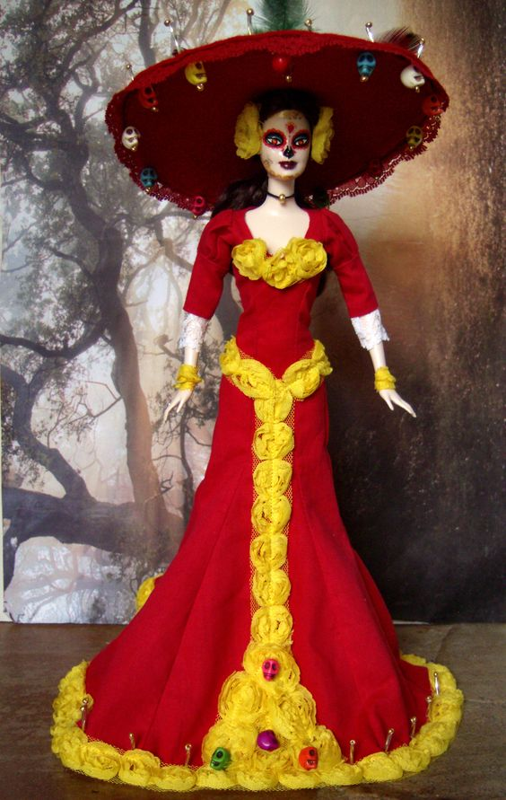 halloween costume catrina