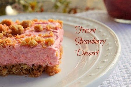 Bunny's Warm Oven: Frozen Strawberry Dessert