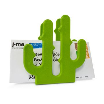 Cactus Letter Holder Green now featured on Fab.