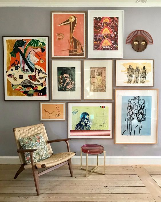 Creating A Gallery Wall In 2021 Gallery Wall Decor Home Art Decor