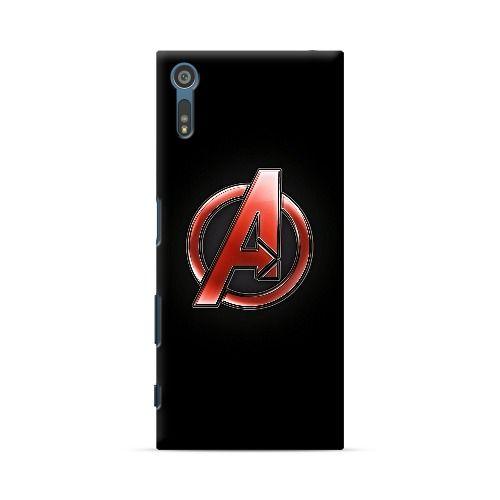 Sony Xperia Xz Avengers Logo Case Avengers Logo Avengers Sony Xperia