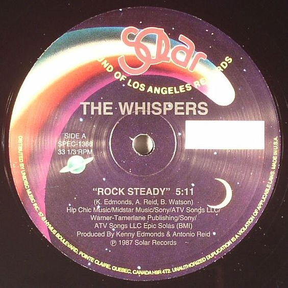 The Whispers — Rock Steady (studio acapella)