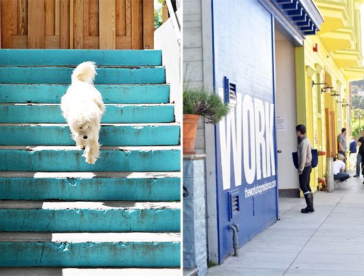 sunday in the city. / sfgirlbybay.... those stairs!!