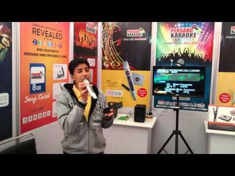 Karaoke Music System Live Demo at Gandhidham Exhibition.