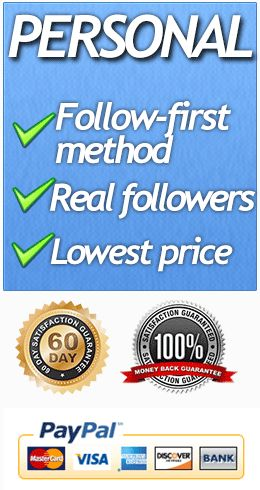 Utliize the Follow-First method on Twitter to get Twitter Followers.