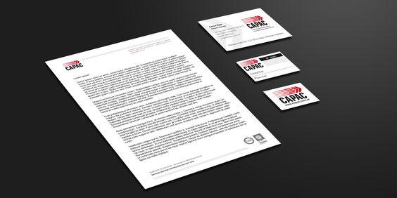 Capac. Papelería institucional.  #estudiocuadra #diseño #identidad