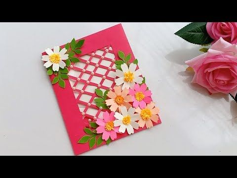 Beautiful Handmade Birthday Card Diy Gift Idea Youtube