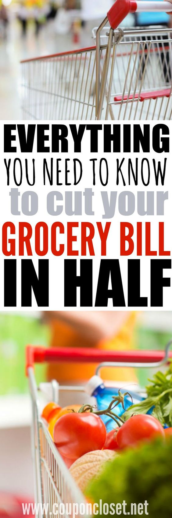Do you wish you could cut your grocery bill in half? Saving Money on groceries isn't has hard as you might think. I give you the best tips you need to truly save money.
