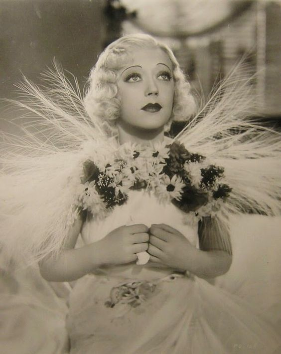 """Marion Davies as Dawn Glory in """"Page Miss Glory"""" 1935"""