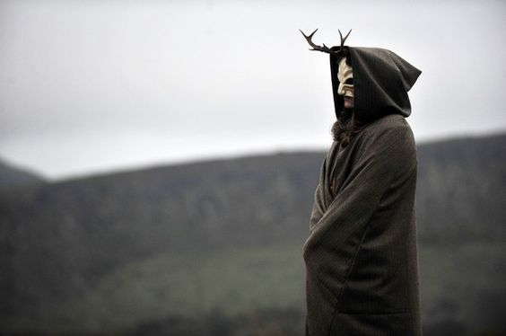 Beltane    http://www.aliraqi.org/forums/showthread.php?t=105019  Getty Images 11 hours ago A masked performer takes part in the Beltane Fire Festival on Calton Hill in Edinburgh on April 30, 2012. The annual event is inspired by the pre-Christian spring-time festival and is intended to emphasis a connection with the passing of the seasons.