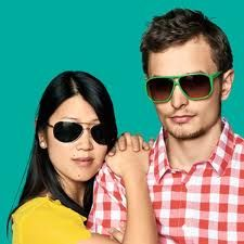 A couple who wears shades together stays together....