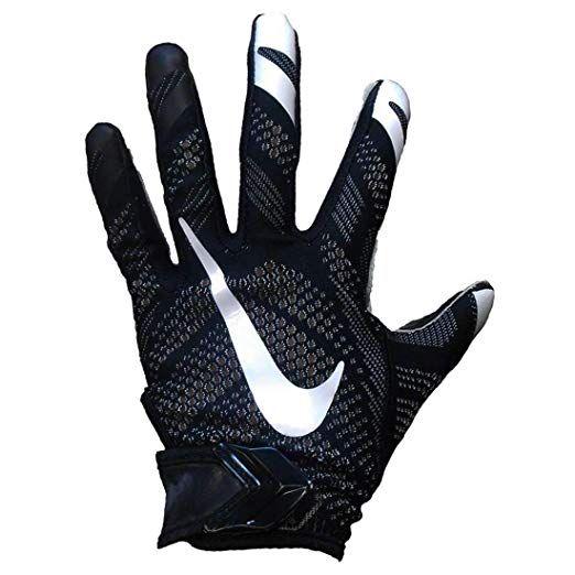 Nike Vapor Knit All Purpose Football Gloves Black White Xl Football Gloves Nike Vapor Gloves