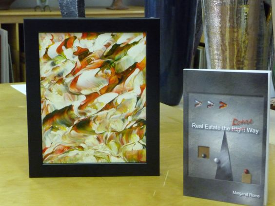 Original art and book cover by marti garaughty for Real Estate the Rome Way