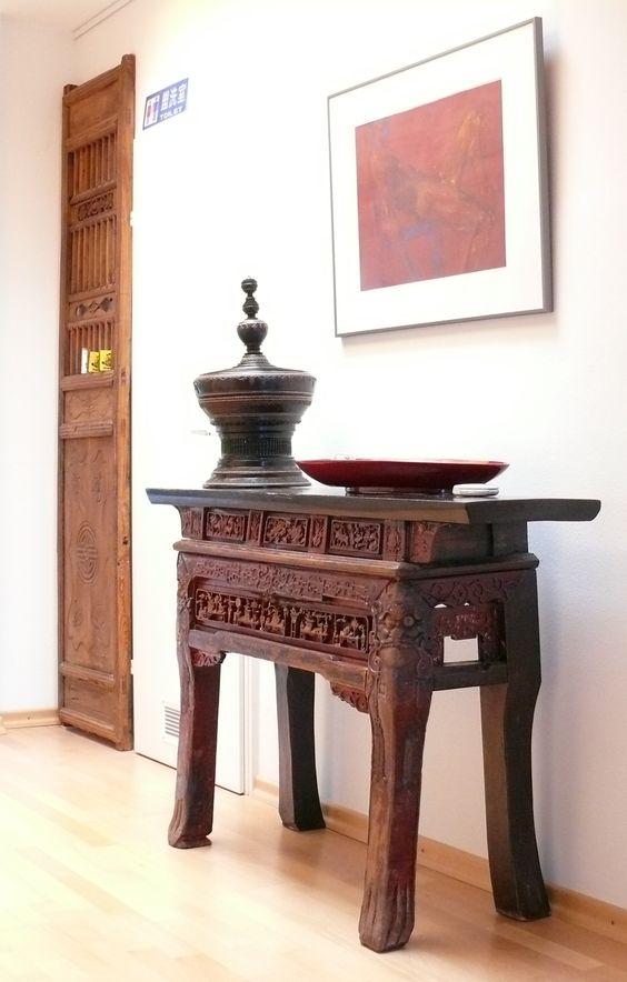 Konsolentisch antik aus China