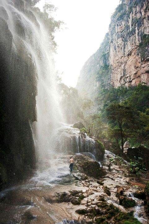 Cascada el Aguacero, Chiapas, México