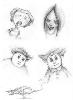Living Lines Library Coraline 2009 Character Design Coraline Drawing Tim Burton Drawings Coraline Art