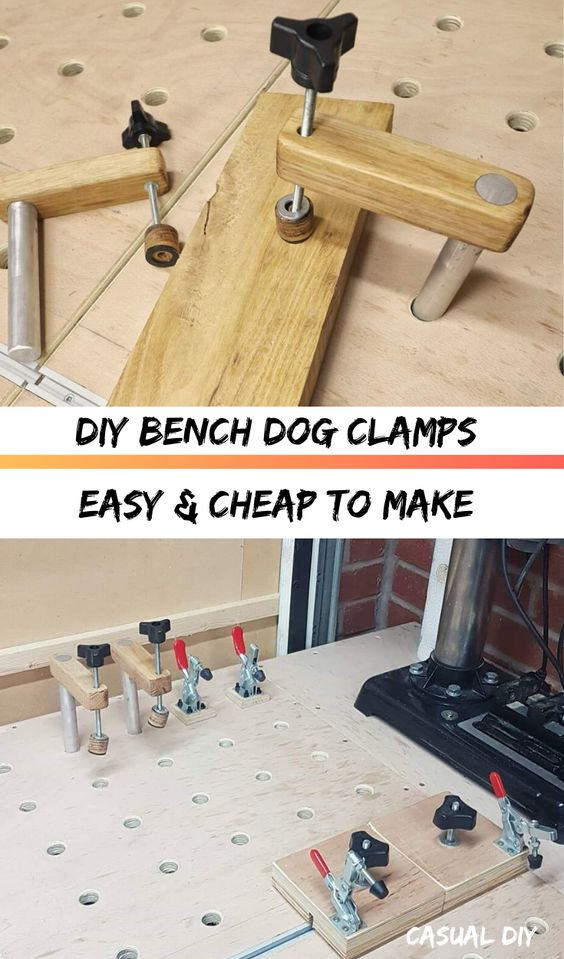How To Make Bench Dog Clamps Dog Bench Woodworking Plans Dog Woodworking