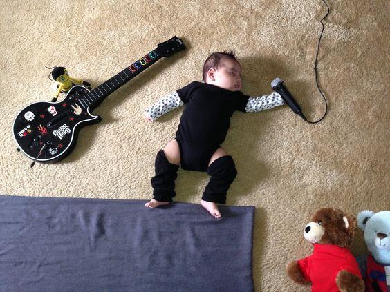 When my baby dreams: