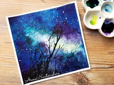This Will Be A Simple Tutorial On Making Your Own Galaxy Or Starry