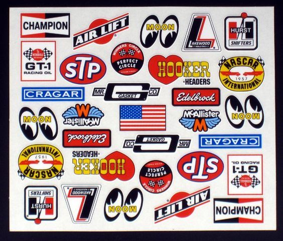 Justin Fines On Twitter In 2020 Decal Sheets Racing Stickers Vintage Racing