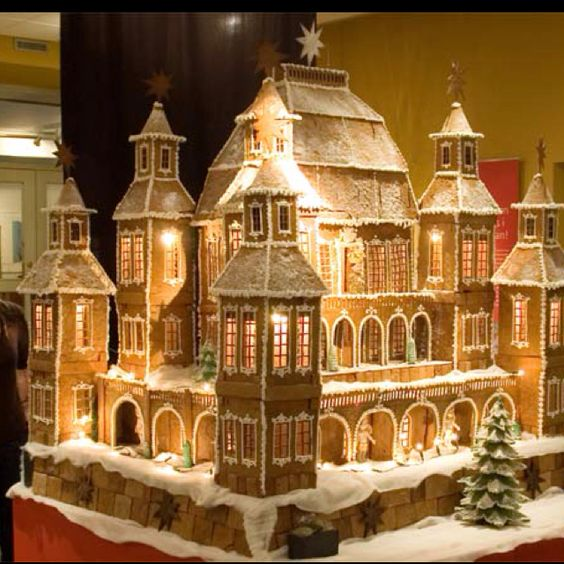 Amazing Gingerbread creation