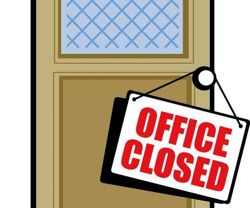 Labor Day 2020 Closed Signs Closed Signs Day Happy Labor Day