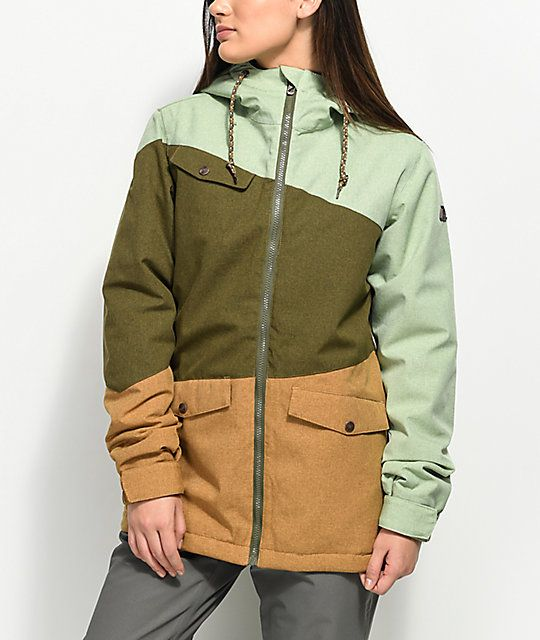 Oliveamp; Aperture Jacket Outerlimits In Snowboard Tobacco 10k 0mOPyvwnN8