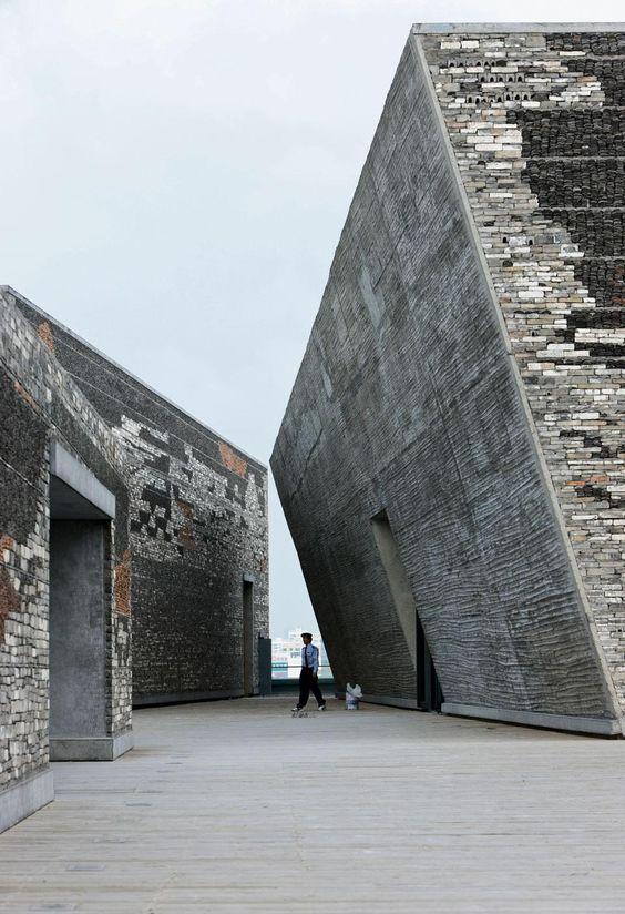 Ningbo Historic Museum by Wang Shu