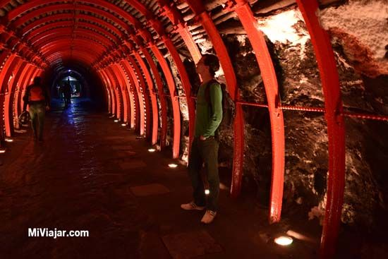 Túnel De Entrada Minas De Sal De Zipaquirá Viajero Del Mundo Colombia Catedral