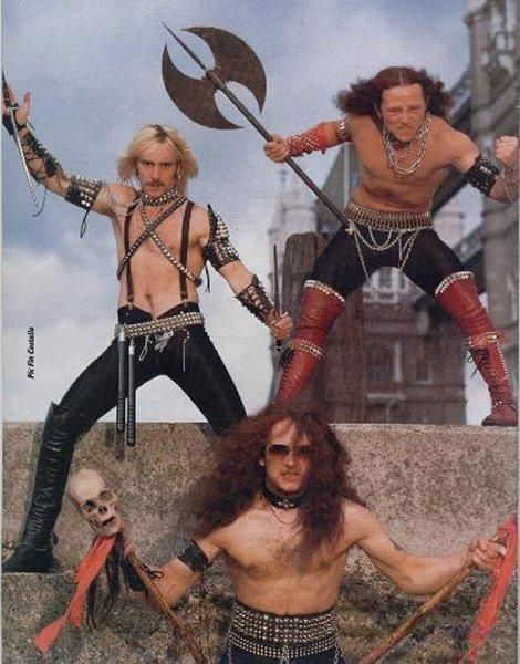 Venom. The profane band in NWOBHM, and the first Black Metal band.