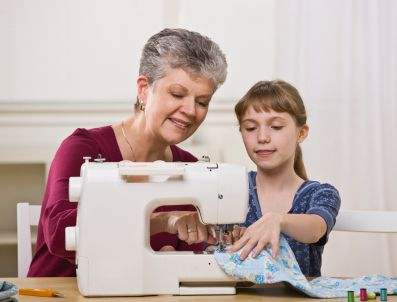 Sewing with Kids - Step by step lessons and articles on how to teach your children(or yourself lol) to sew. :)