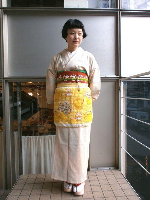 Kikikimono Apron Kimono From Tokyo 135 Kimono Traditional Outfits Yukata