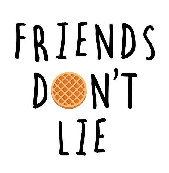 Stranger Things Friends Don T Lie By Kh Designs Redbubble Stranger Stranger Things Stranger Things Tattoo