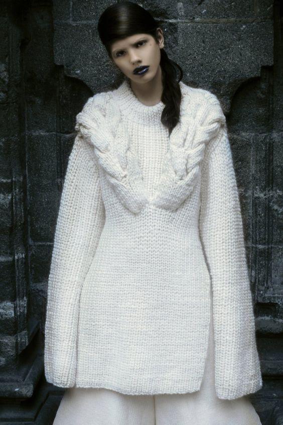 knitGrandeur®: Carolina Ocejo, F/W 2016