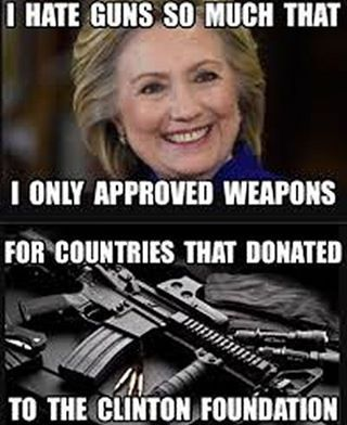 Hillary's actions: deleting 30,000+ emails, jeopardizing national security with emails, Iran deal (lies), Benghazi (lies), leaving Americans to die (Benghazi), CLINTON CASH, fraud charities, saying she's pro gay and pro woman's rights but she takes money from Islamic countries who kill/abuse women and gays, letting jihad grow globally, wants open borders when that has failed Europe, wants we the people to pay for illegals healthcare via Obamacare.... I'll stop there. Vince Foster, John Ashe a...