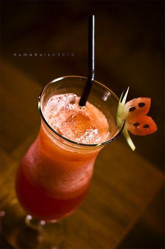 watermelon juice. seminyak bali